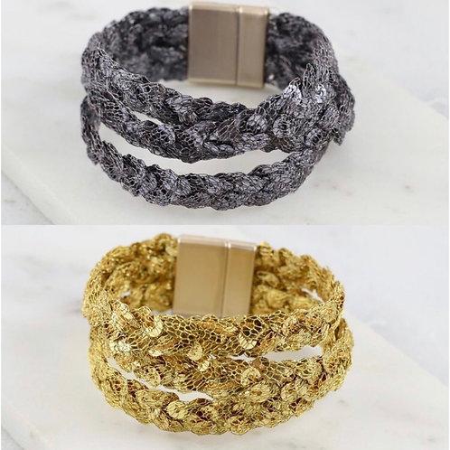 Sequin Magnetic Bracelet