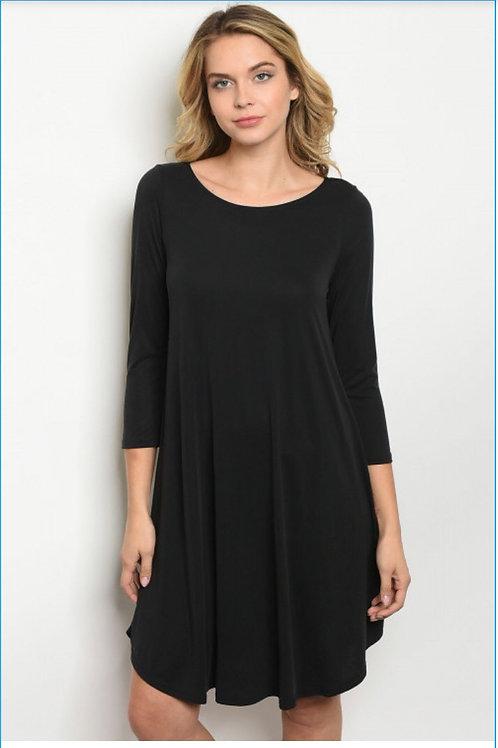 Scandalous Black Dress