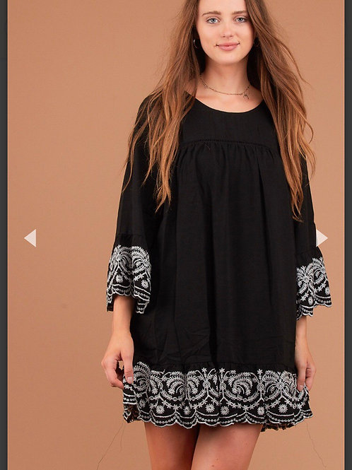 Black & White Tunic