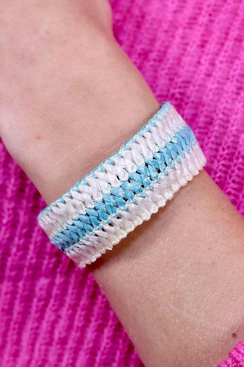 Island Woven Cuff Bracelet