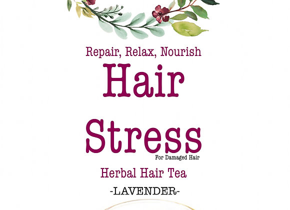 Hair Stress: Herbal Hair Tea (For damage)