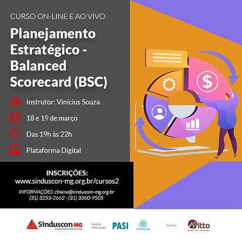 Curso de Planejamento Estratégico - Balanced Scorecard (BSC)