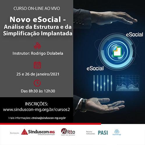 Novo eSocial - Análise de Estrutura e da Simplificação Implantada