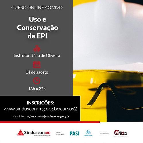 Uso e Conservação de EPI (online ao vivo)