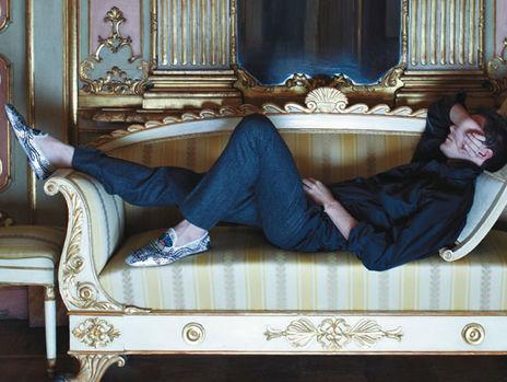 Photo: Courtesy of L'Uomo Vogue and Swarovski Elements