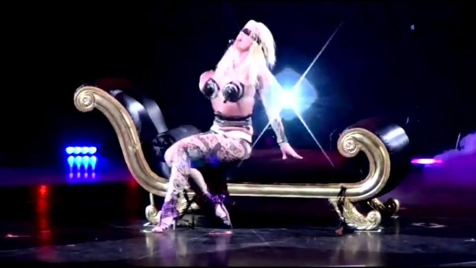 Britney Spears Circus Tour short video