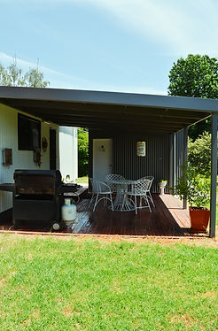 Walwa Cottage Back Deck