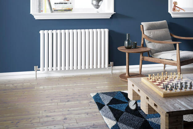 Livingroom heating radiator