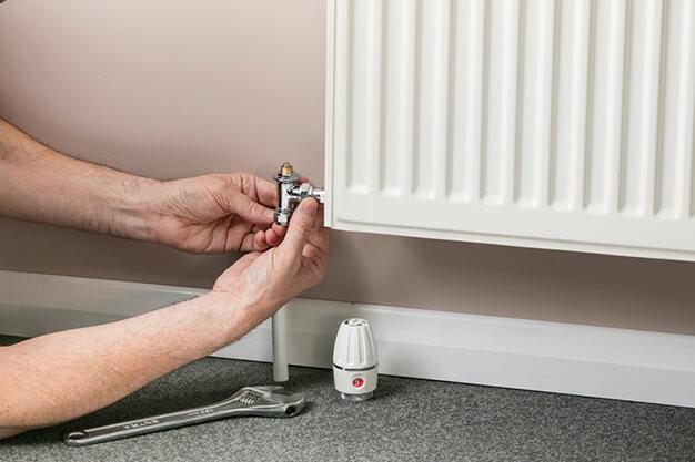 repairing a leaking radiator