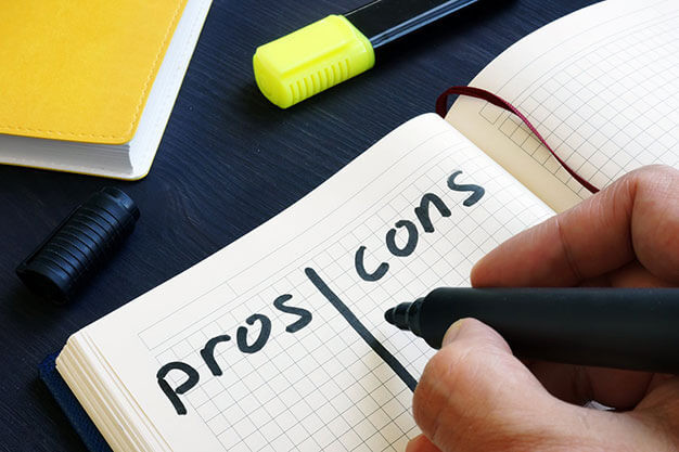 pros and cons of heating systems