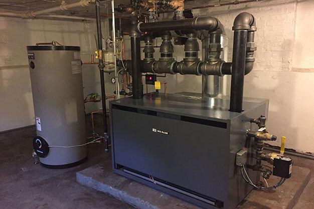 home steam boiler