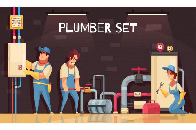 repairing a boiler