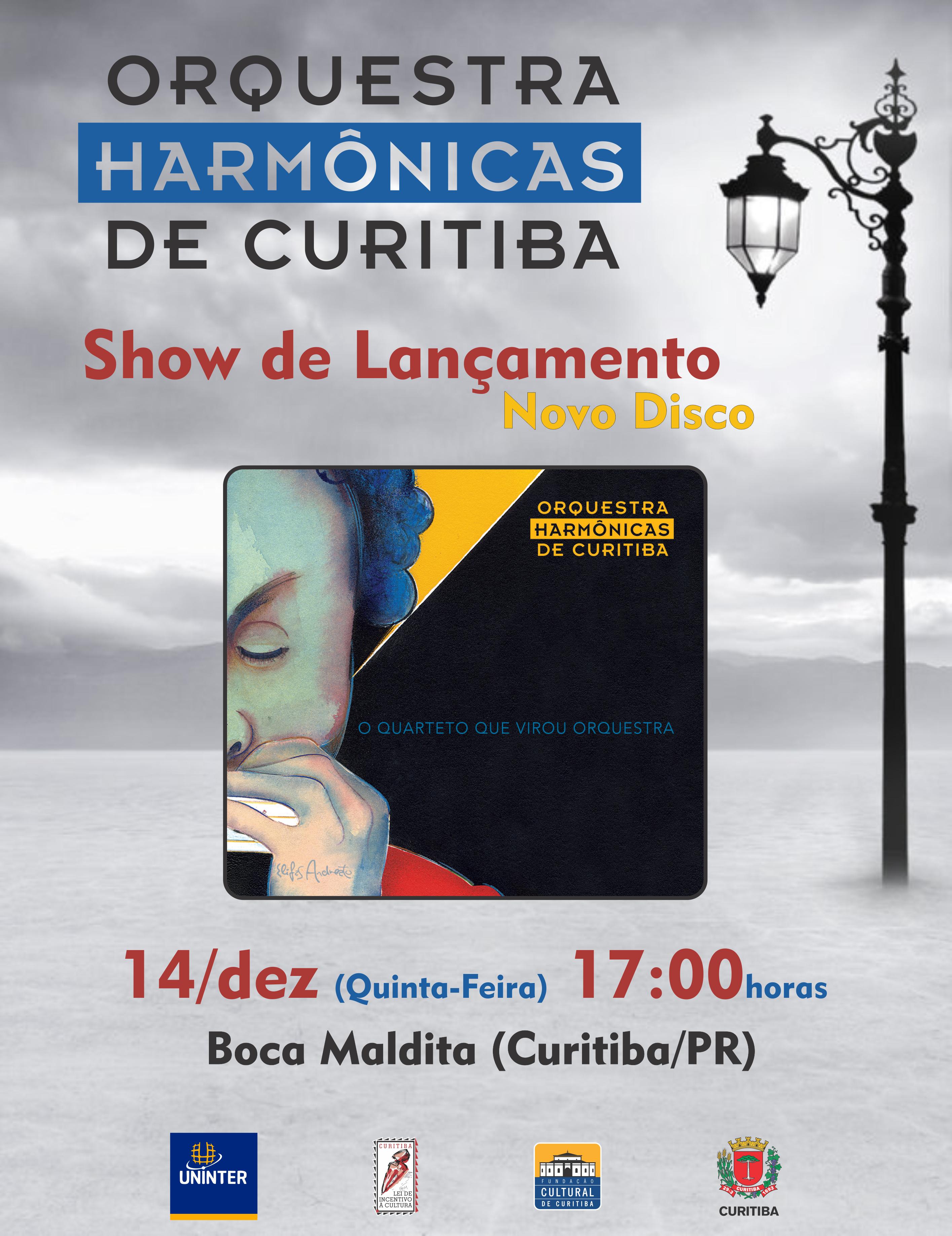 Cartaz Show Lançamento CD