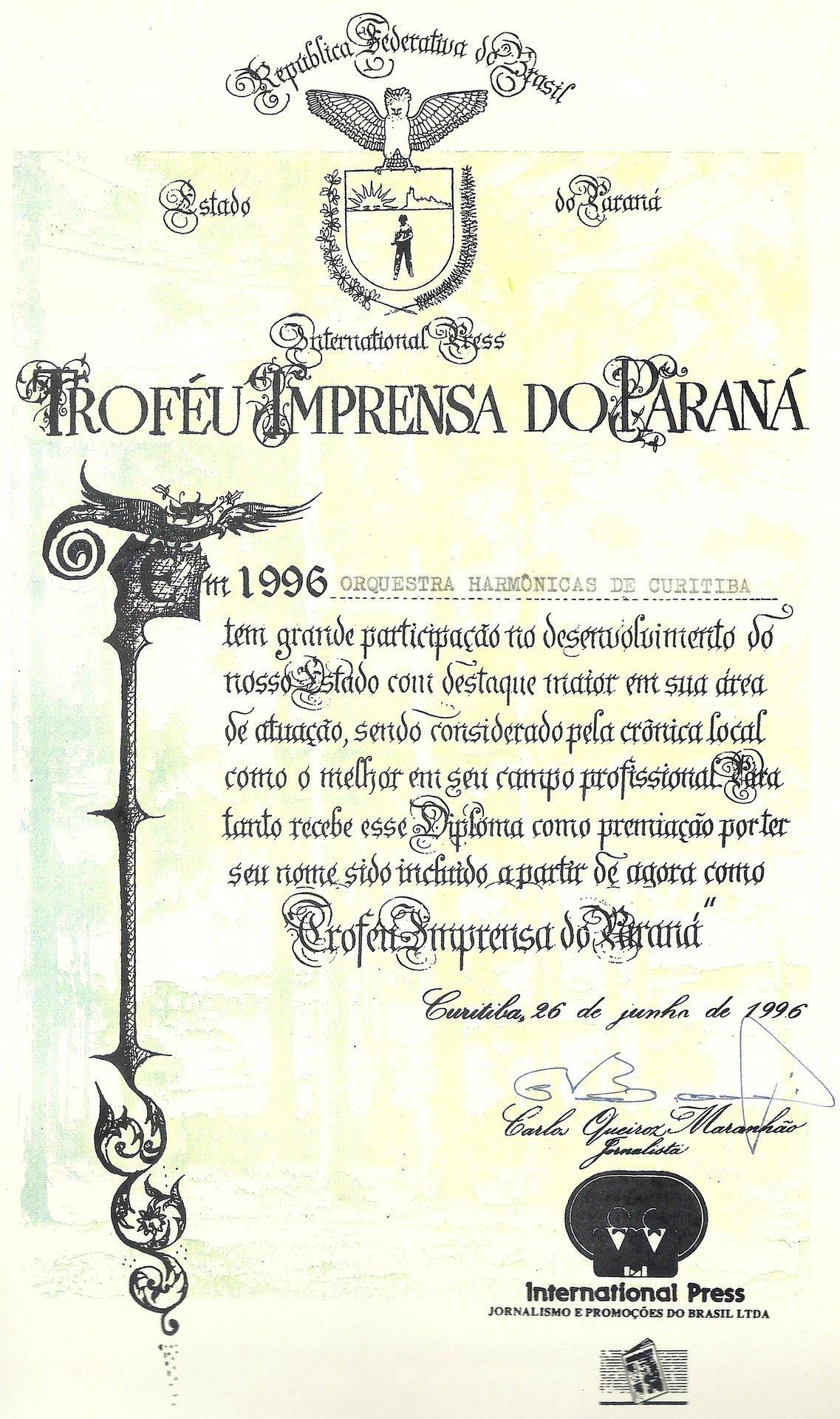 Troféu Imprensa do Paraná