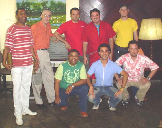 Troupe em Cuiabá