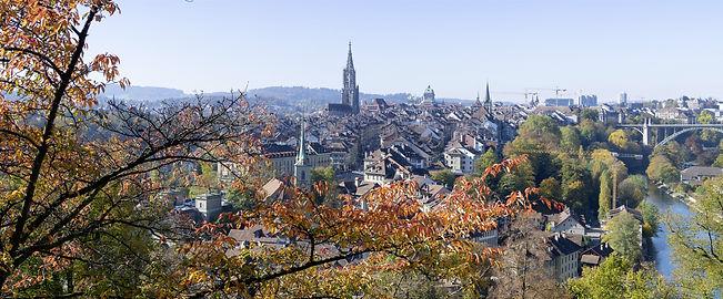 Stadt Bern im Herbst