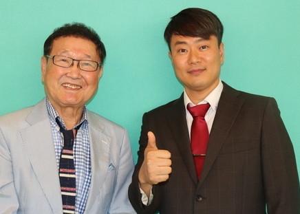NHK일본유명탤런드板東英二 노종민 베스트프렌드 대표인터뷰