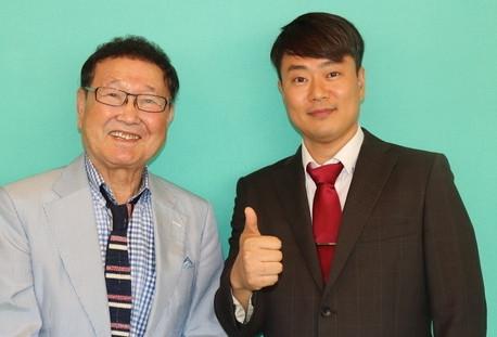 NHK일본유명탤런드板東英二씨 인터뷰