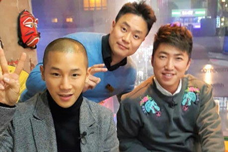 SBS TV촬영 장동민님