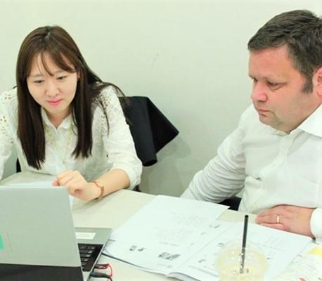 Paul  Potts 한국어 수업