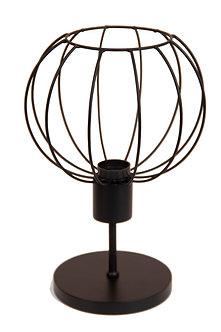 Abajur Wire Sphere Pedestal
