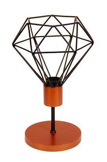 Abajur Wire Diamond Pedestal