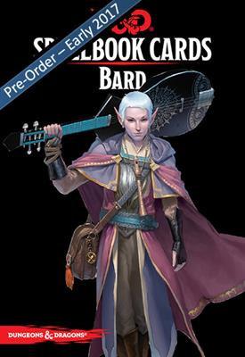 D&D Spell Book Cards: Bard Deck