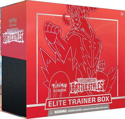 Pokemon TCG Elite Trainer Box Battle Styles