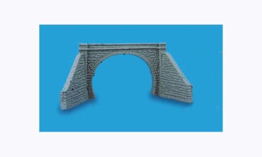 Model Scene Tunnel Portal Double Track
