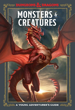 D&D Monsters and Creatures A Young Adventurer's guide
