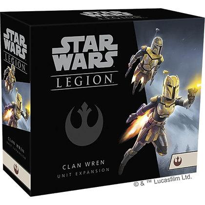 Star Wars Legion Clan Wren rebel expansion