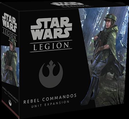 Star Wars Legion Rebel Commandos expansion