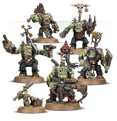 Warhammer 40k Ork Nobs