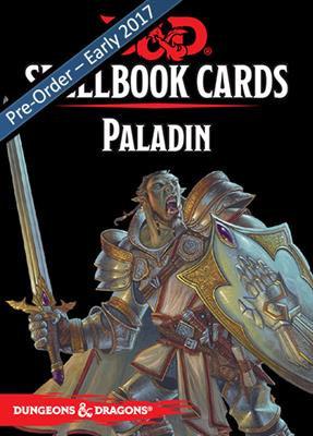 D&D Spell Book Cards: Paladin Deck