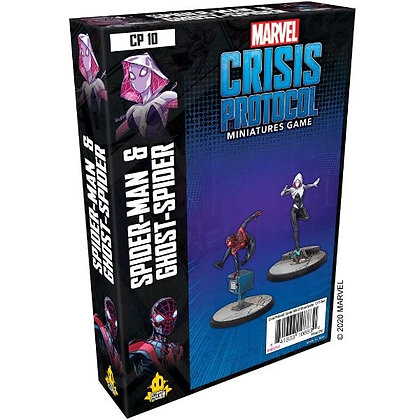 Marvel Crisis Protocol Spiderman and Ghost Spider