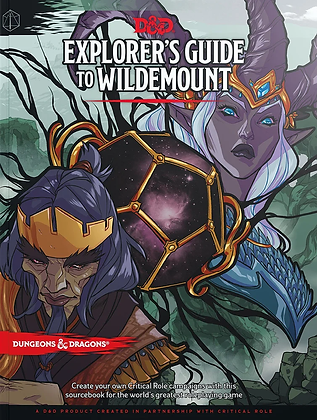 D&D  guide to Wildemount