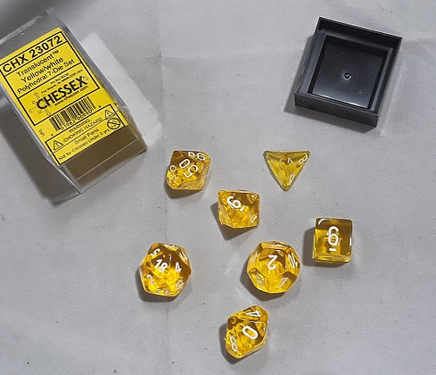 Chessex Polyhedral 7 Die Set