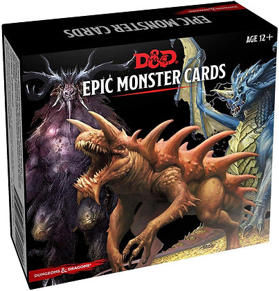 D&D Spell Book Cards: Epic Monsters