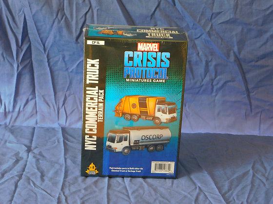 Marvel Crisis Protocol - Garbage Truck / Chem Truck Terrain Expansion