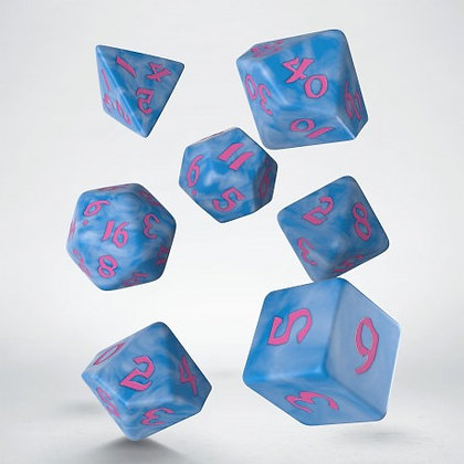 Classic Runic 7 die polyhedral sets