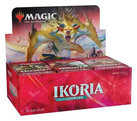 Magic The Gathering Ikoria Lair of Behemoths draft boosters