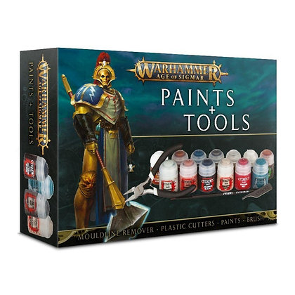 Age of Sigmar paint and tools