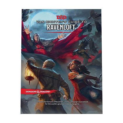 D&D Van Richten's Guide to Raven loft