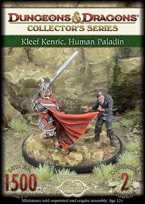 D&D Kleef Keric, Human Paladin