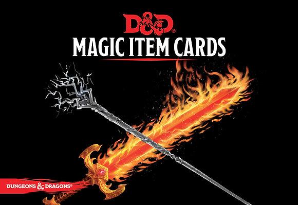 D&D Spell Book cards: Magic Items