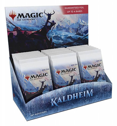 Magic The Gathering KaldheimSet Boosters