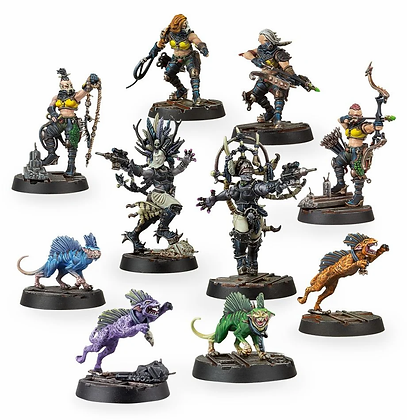 House Escher Death Maidens and Wyld Runners