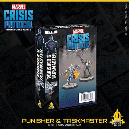Marvel Crisis Protocol Task Master and Punisher