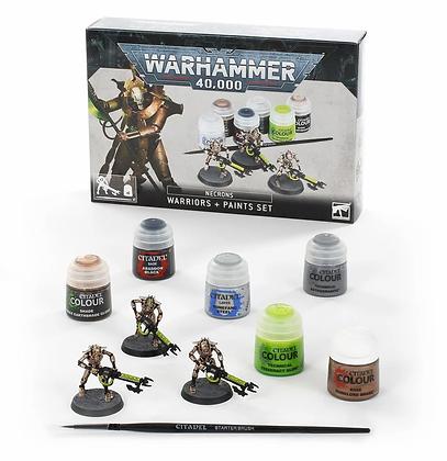 Necron Warriors+ Paint