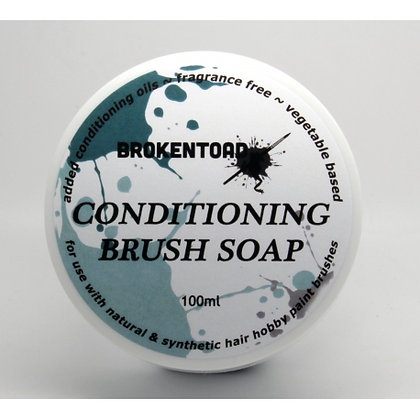 Broken Toad Brush Conditioning Soap